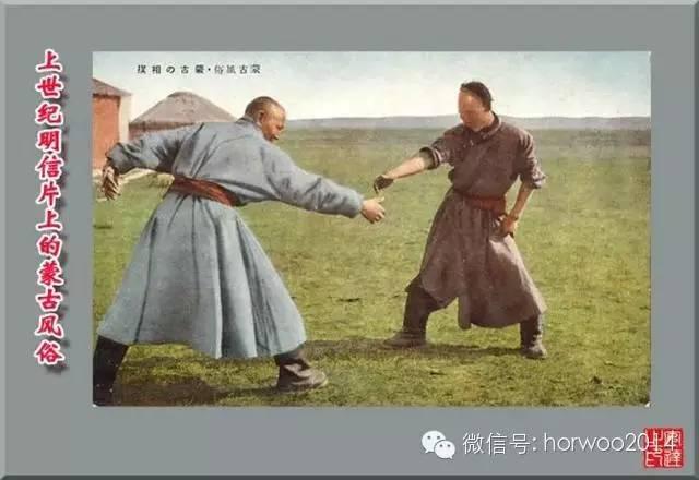 上世纪日本明信片上的蒙古风俗 第28张