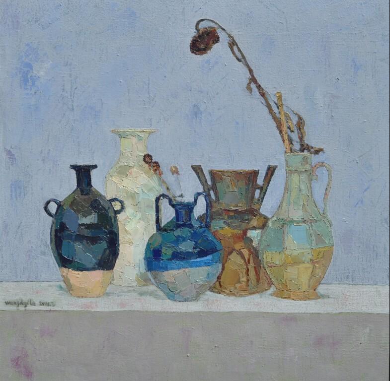 内蒙古草原油画院画家--王都一乐 第8张 内蒙古草原油画院画家--王都一乐 蒙古画廊