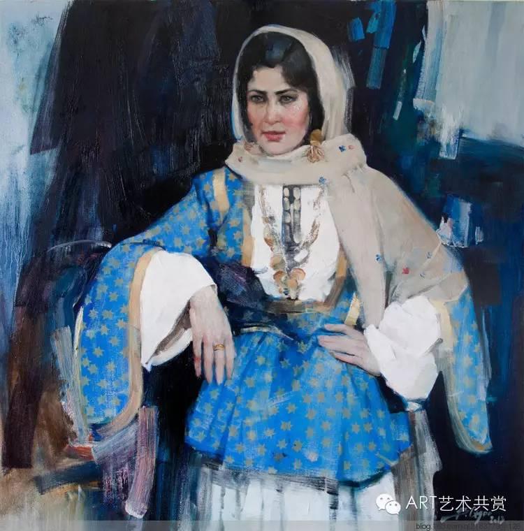 这位蒙古国画家的画风,相当彪悍 第5张 这位蒙古国画家的画风,相当彪悍 蒙古画廊