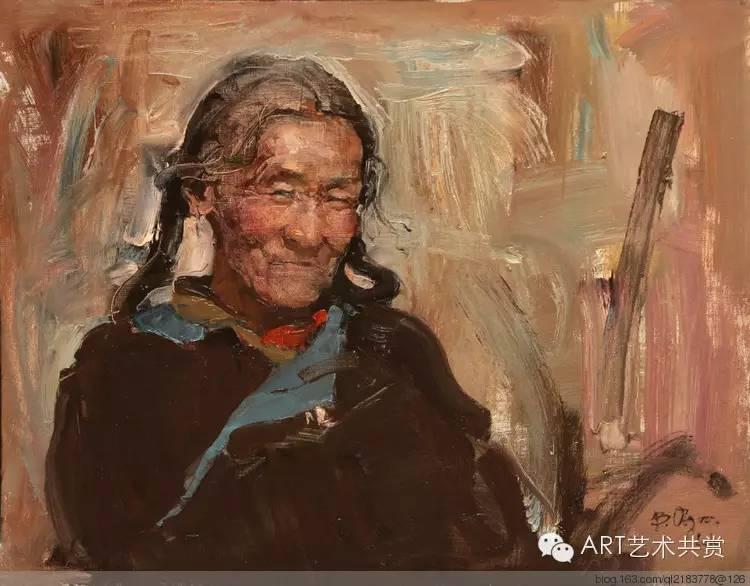 这位蒙古国画家的画风,相当彪悍 第12张
