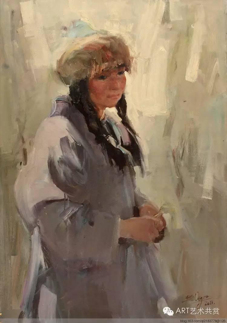 这位蒙古国画家的画风,相当彪悍 第13张