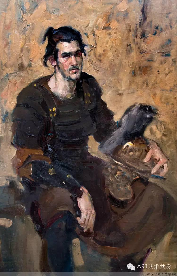 这位蒙古国画家的画风,相当彪悍 第19张 这位蒙古国画家的画风,相当彪悍 蒙古画廊