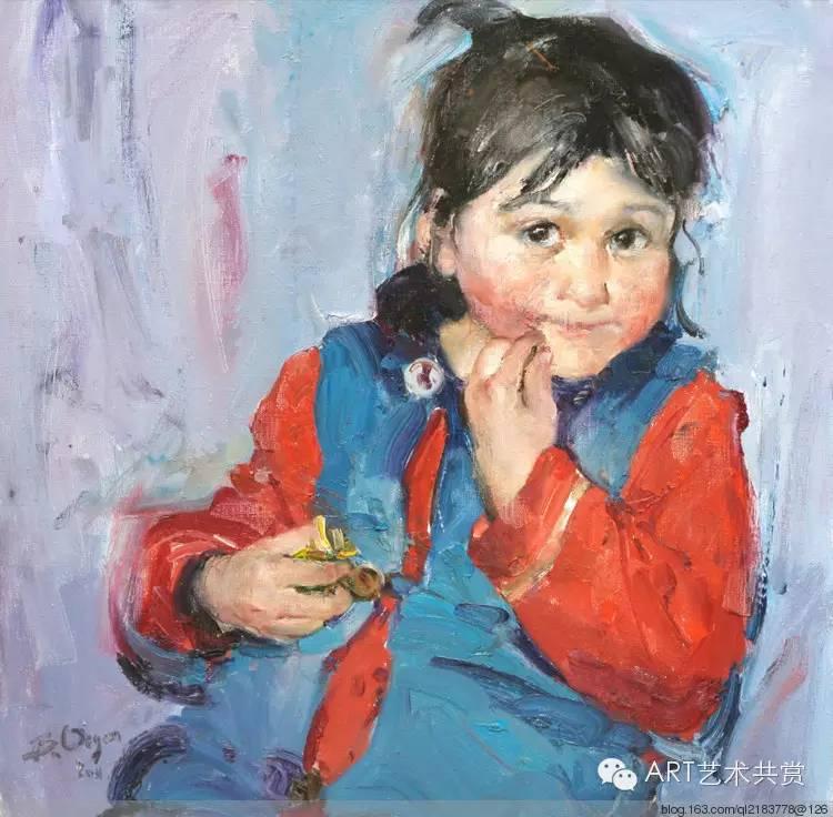 这位蒙古国画家的画风,相当彪悍 第17张
