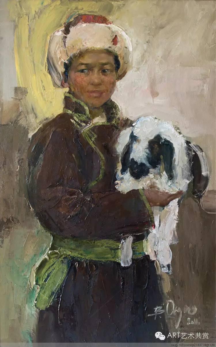 这位蒙古国画家的画风,相当彪悍 第22张