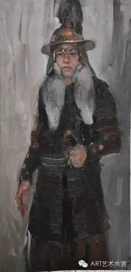 这位蒙古国画家的画风,相当彪悍 第27张