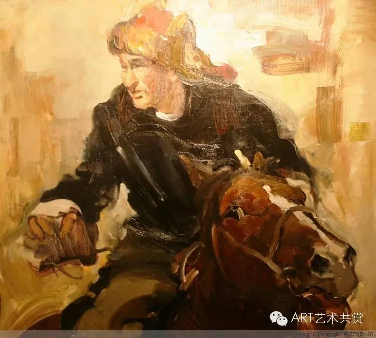 这位蒙古国画家的画风,相当彪悍 第32张