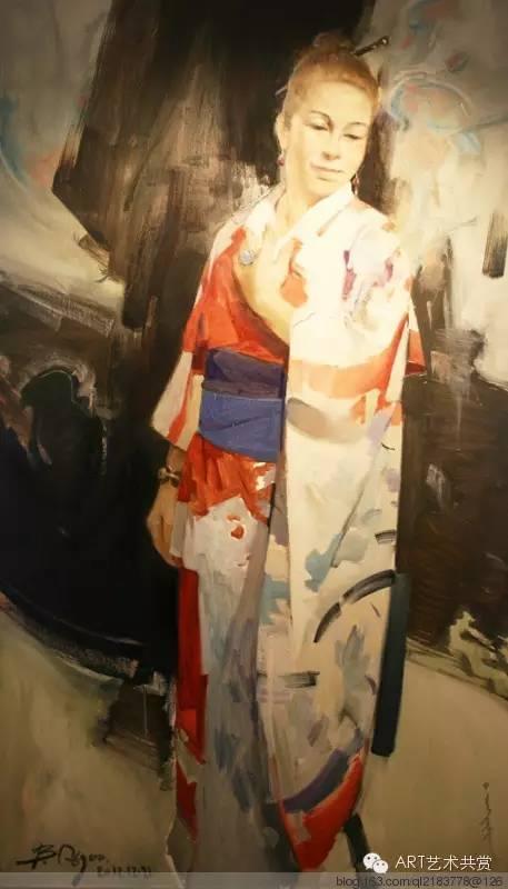 这位蒙古国画家的画风,相当彪悍 第37张
