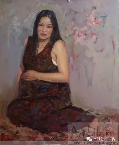 这位蒙古国画家的画风,相当彪悍 第44张