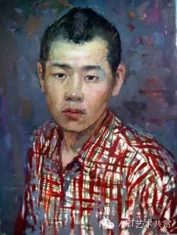 这位蒙古国画家的画风,相当彪悍 第45张