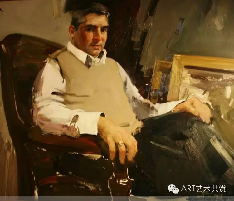 这位蒙古国画家的画风,相当彪悍 第50张