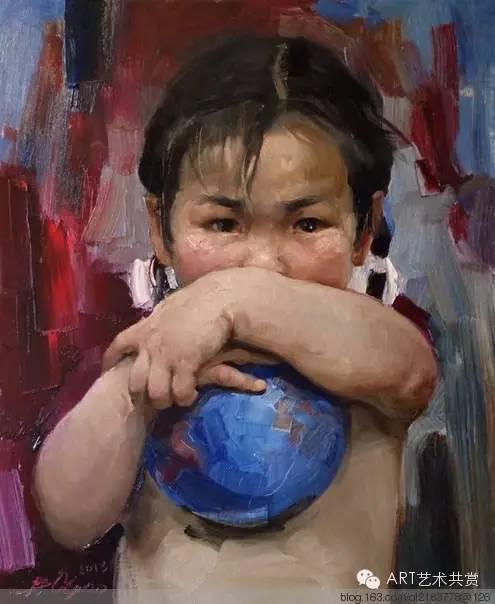 这位蒙古国画家的画风,相当彪悍 第49张
