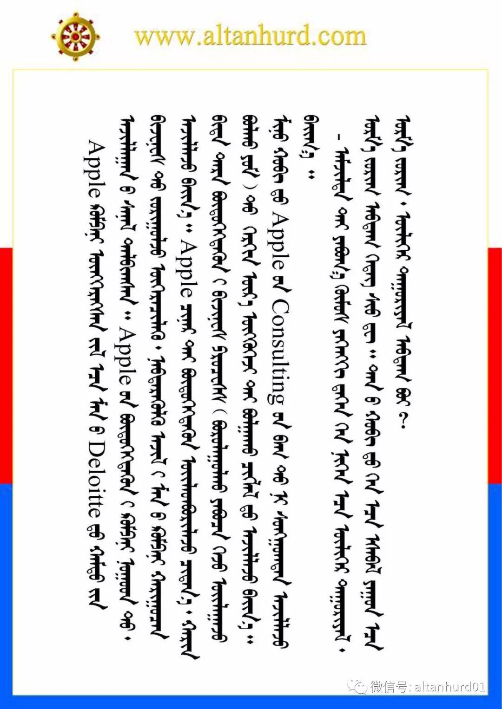 【蒙古男人】美国苹果公司战略顾问巴图金 第7张