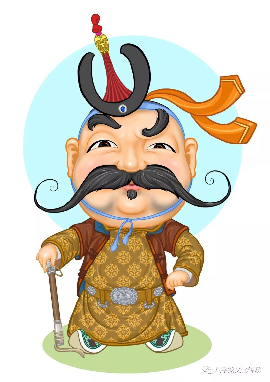 知道这些蒙古表情图出自哪里吗?快来收藏吧 第1张