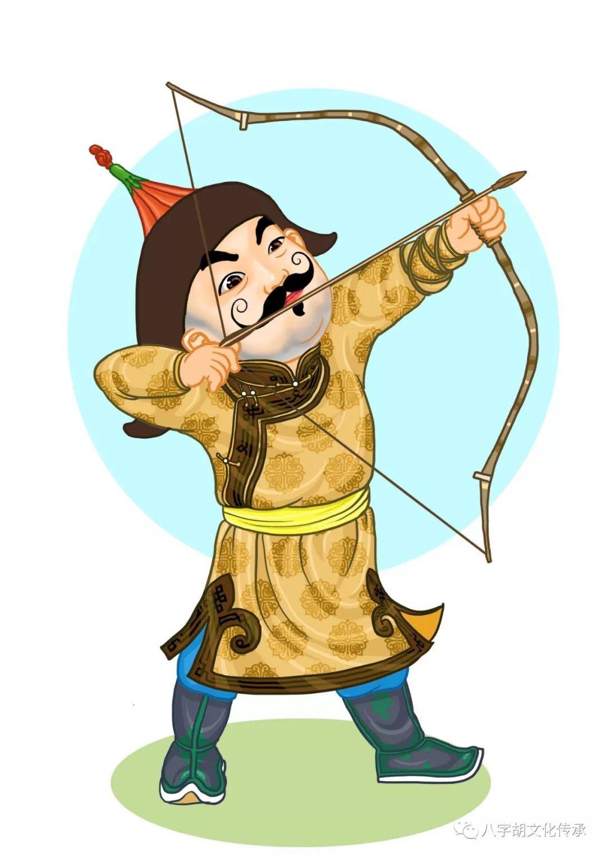 知道这些蒙古表情图出自哪里吗?快来收藏吧 第3张 知道这些蒙古表情图出自哪里吗?快来收藏吧 蒙古设计