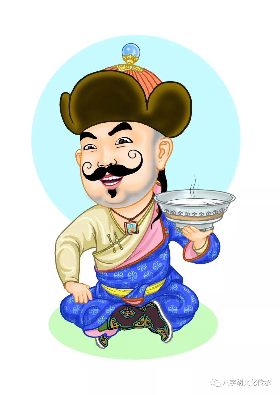 知道这些蒙古表情图出自哪里吗?快来收藏吧 第5张