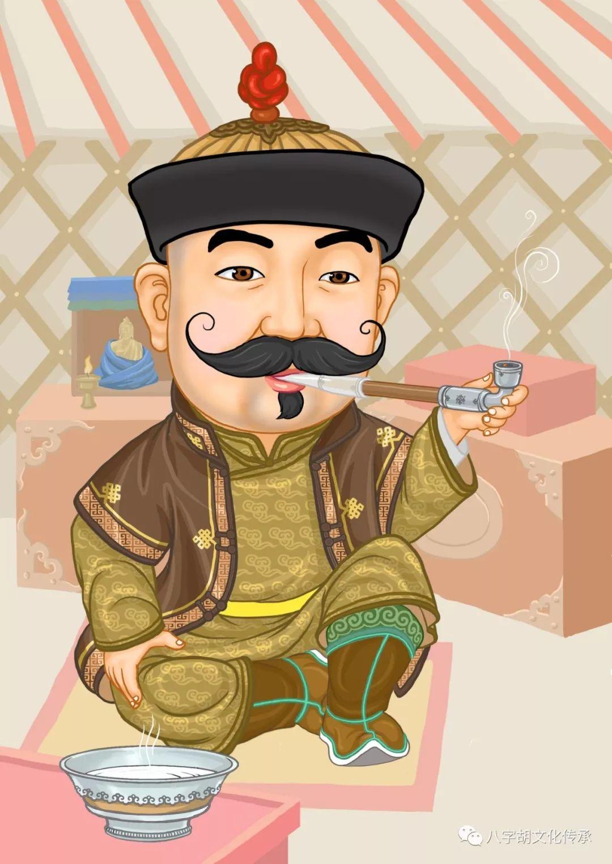 知道这些蒙古表情图出自哪里吗?快来收藏吧 第7张 知道这些蒙古表情图出自哪里吗?快来收藏吧 蒙古设计