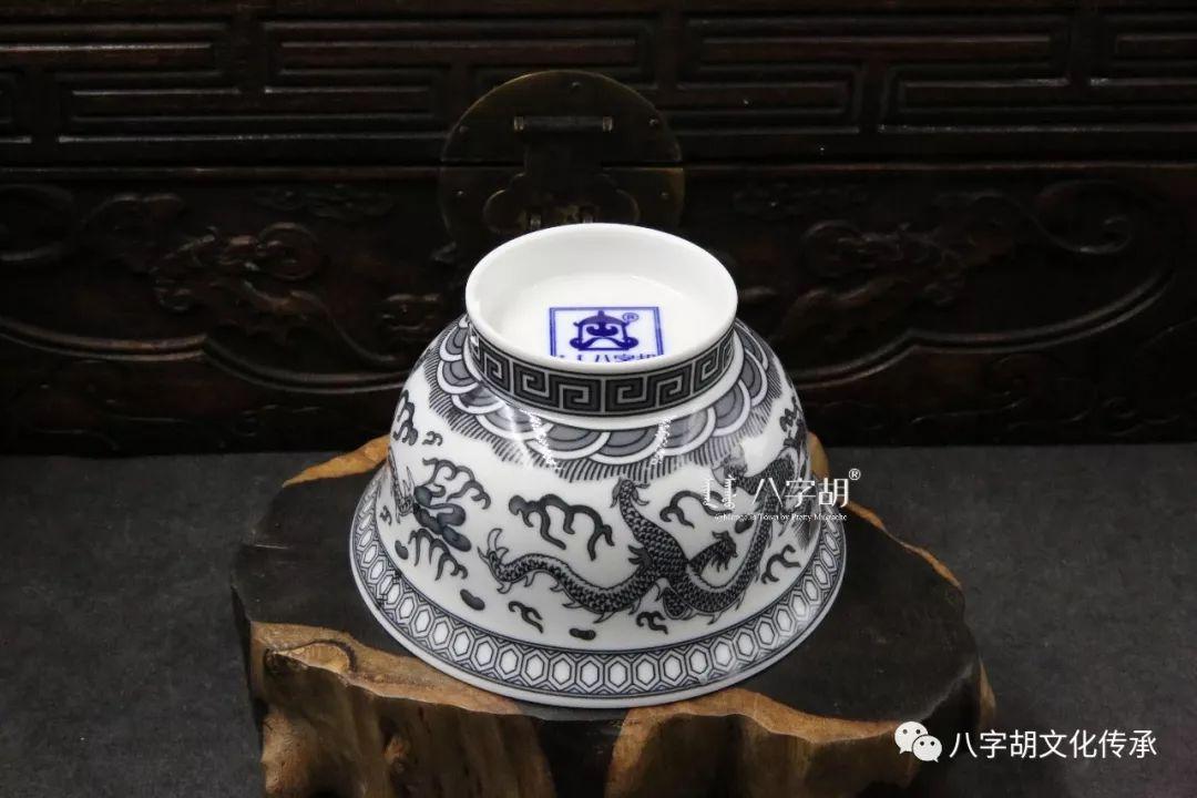 八字胡 传统式蒙古瓷碗系列 第6张 八字胡 传统式蒙古瓷碗系列 蒙古工艺