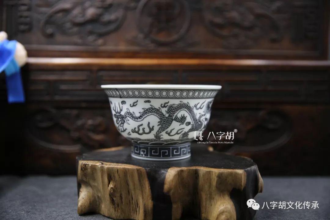 八字胡 传统式蒙古瓷碗系列 第9张 八字胡 传统式蒙古瓷碗系列 蒙古工艺