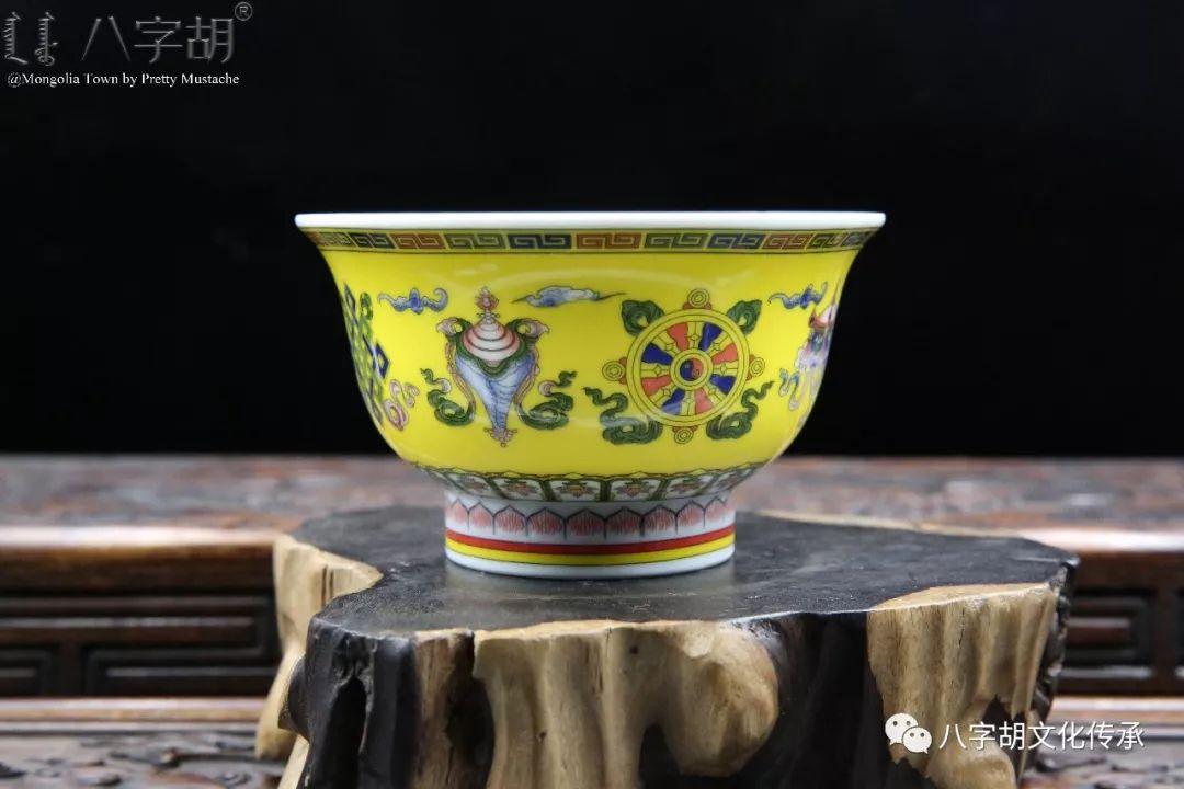 八字胡 传统式蒙古瓷碗系列 第17张 八字胡 传统式蒙古瓷碗系列 蒙古工艺