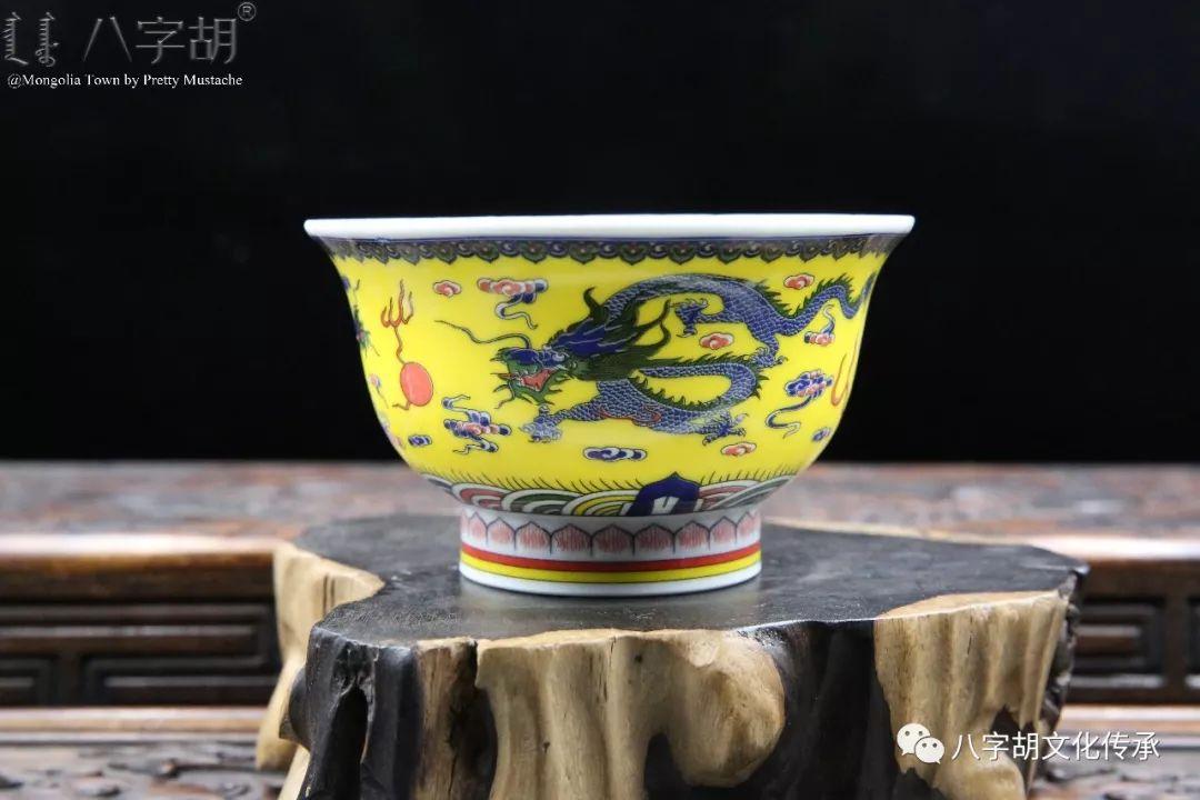 八字胡 传统式蒙古瓷碗系列 第16张 八字胡 传统式蒙古瓷碗系列 蒙古工艺