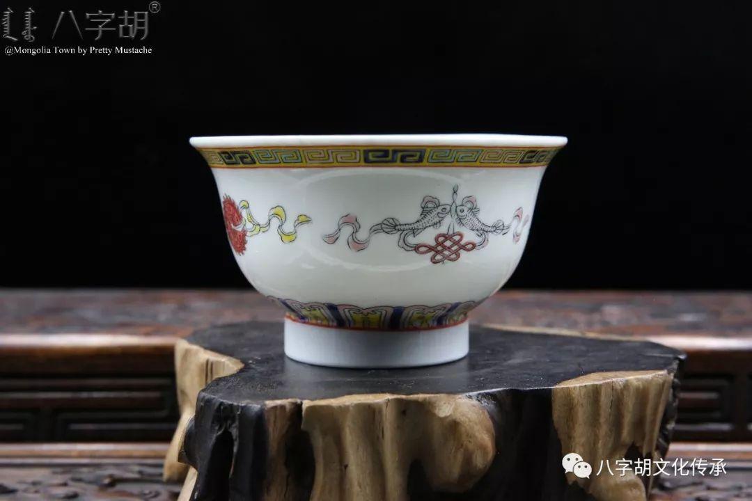八字胡 传统式蒙古瓷碗系列 第18张 八字胡 传统式蒙古瓷碗系列 蒙古工艺