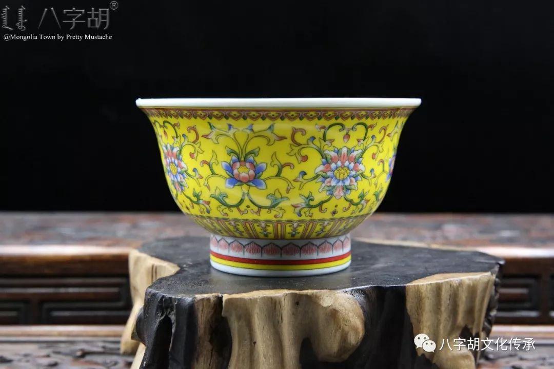 八字胡 传统式蒙古瓷碗系列 第23张 八字胡 传统式蒙古瓷碗系列 蒙古工艺