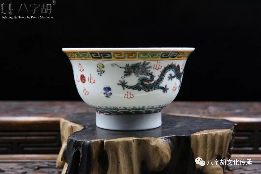 八字胡 传统式蒙古瓷碗系列 第21张 八字胡 传统式蒙古瓷碗系列 蒙古工艺
