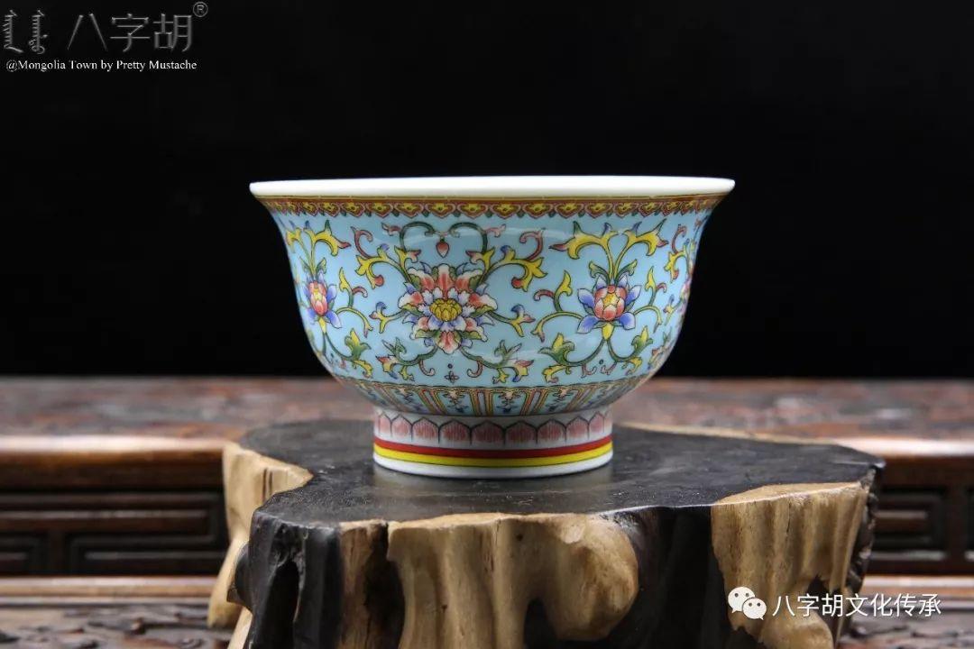 八字胡 传统式蒙古瓷碗系列 第20张 八字胡 传统式蒙古瓷碗系列 蒙古工艺