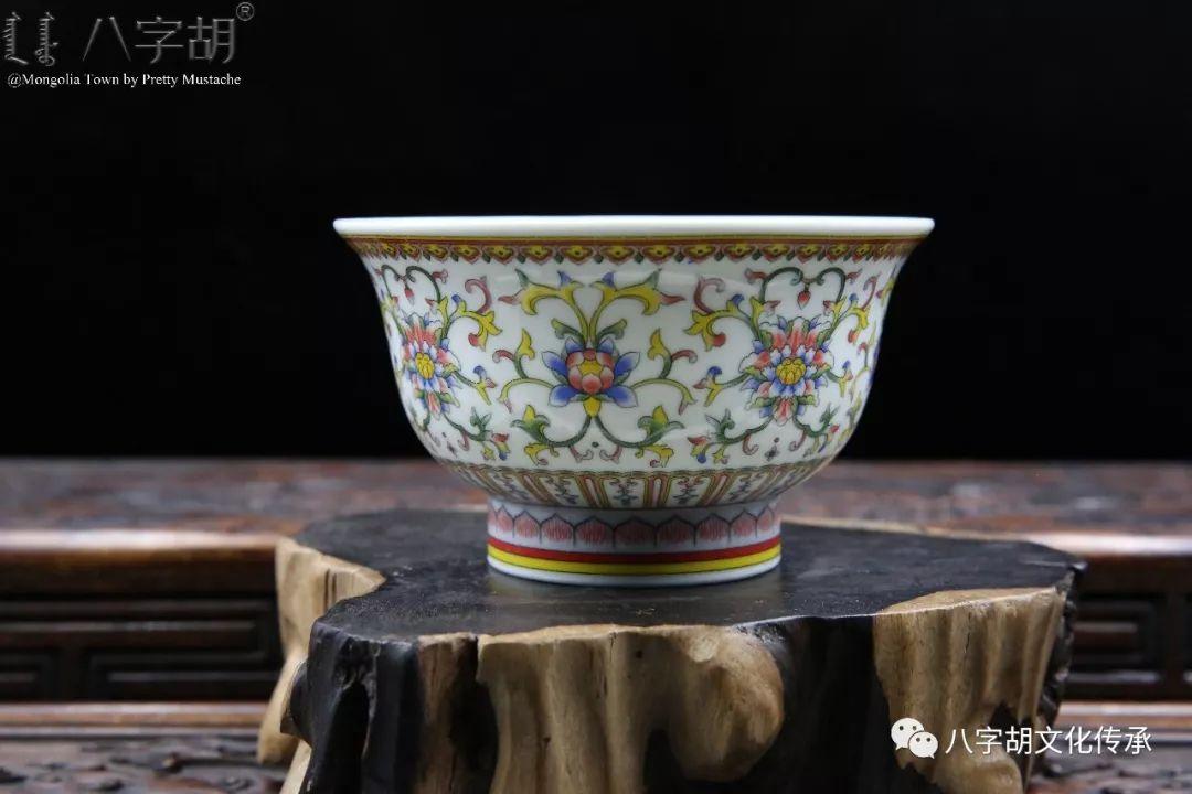 八字胡 传统式蒙古瓷碗系列 第25张 八字胡 传统式蒙古瓷碗系列 蒙古工艺