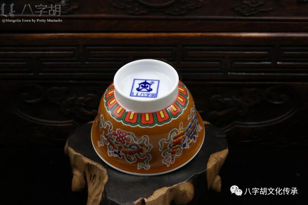 八字胡 传统式蒙古瓷碗系列 第27张 八字胡 传统式蒙古瓷碗系列 蒙古工艺