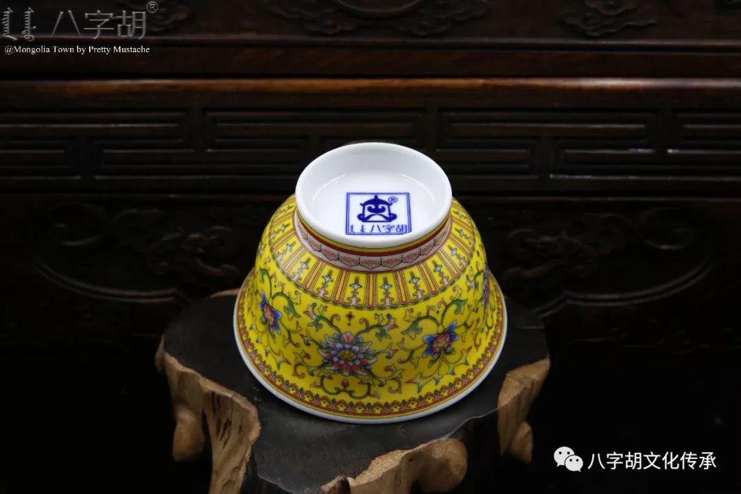 八字胡 传统式蒙古瓷碗系列 第28张 八字胡 传统式蒙古瓷碗系列 蒙古工艺