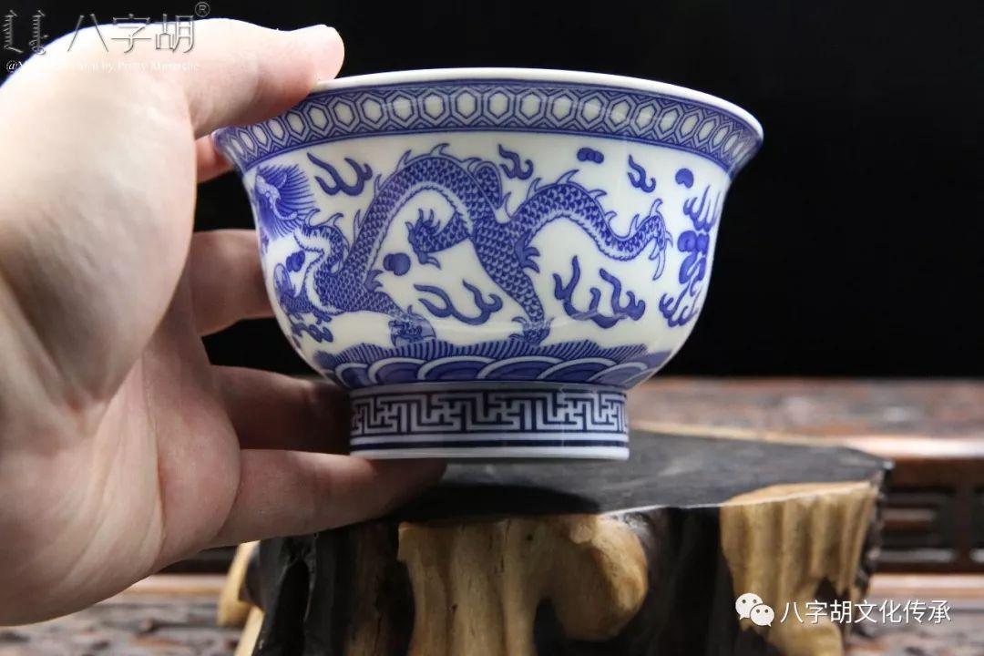 八字胡 传统式蒙古瓷碗系列 第38张 八字胡 传统式蒙古瓷碗系列 蒙古工艺