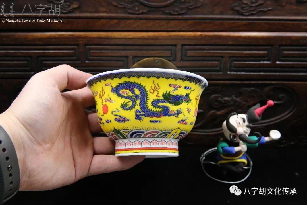 八字胡 传统式蒙古瓷碗系列 第40张 八字胡 传统式蒙古瓷碗系列 蒙古工艺