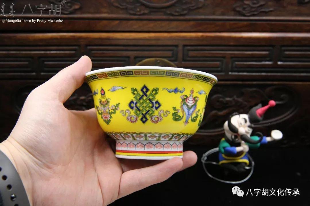 八字胡 传统式蒙古瓷碗系列 第42张 八字胡 传统式蒙古瓷碗系列 蒙古工艺