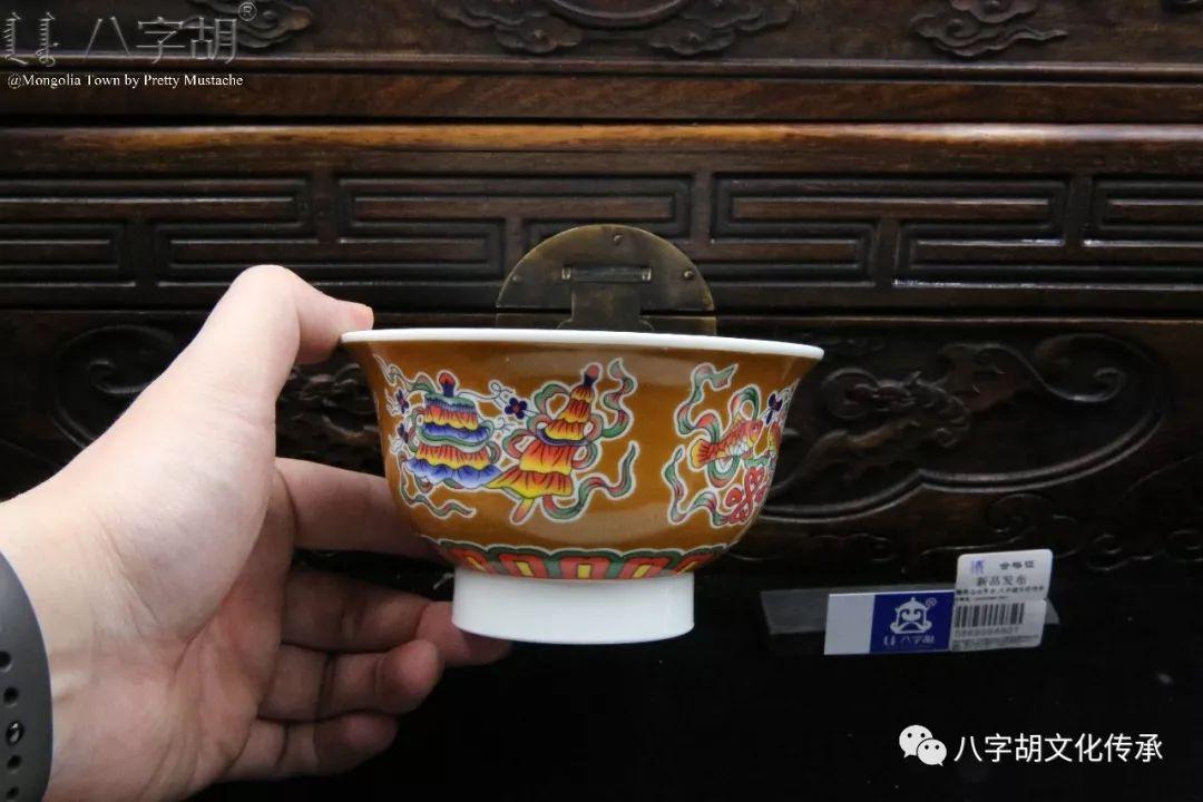 八字胡 传统式蒙古瓷碗系列 第57张 八字胡 传统式蒙古瓷碗系列 蒙古工艺