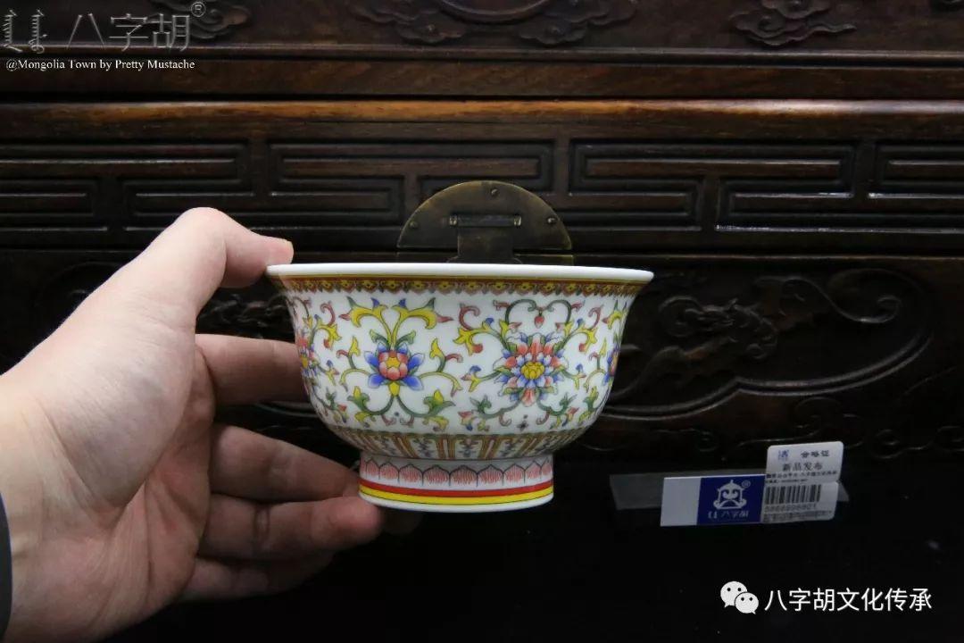 八字胡 传统式蒙古瓷碗系列 第59张 八字胡 传统式蒙古瓷碗系列 蒙古工艺