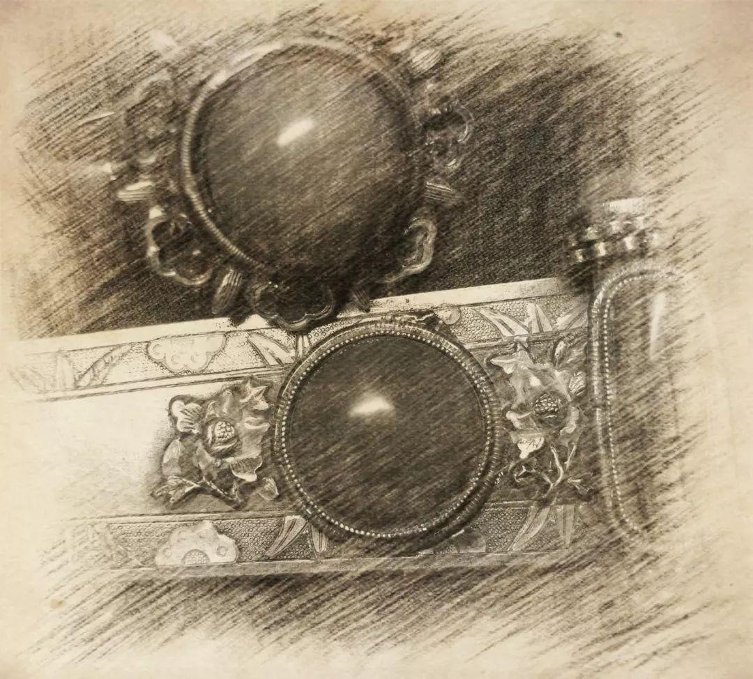 蒙古族银饰——小巧精美的银扣子 第1张