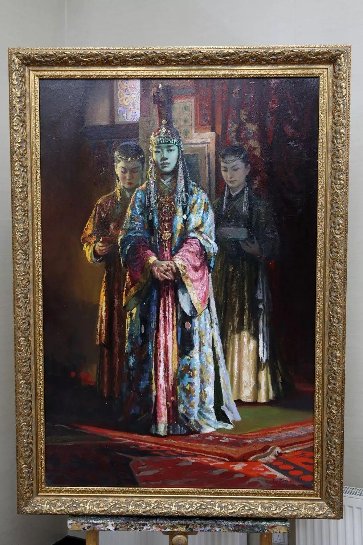 """蒙古现实主义艺术家的""""遗产""""展览开幕 第2张"""