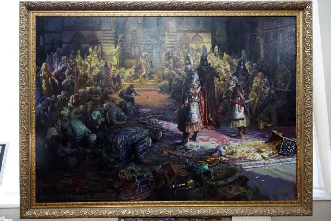 """蒙古现实主义艺术家的""""遗产""""展览开幕 第3张"""