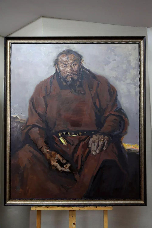 """蒙古现实主义艺术家的""""遗产""""展览开幕 第5张"""