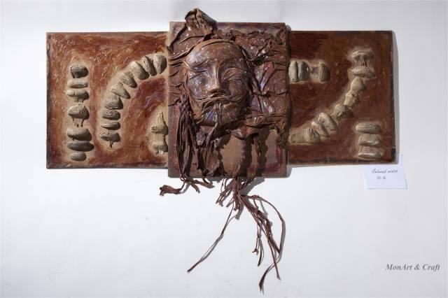【美图】蒙古国皮画家艺术家吉雅图作品欣赏 第2张 【美图】蒙古国皮画家艺术家吉雅图作品欣赏 蒙古画廊