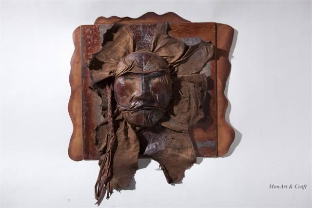 【美图】蒙古国皮画家艺术家吉雅图作品欣赏 第3张 【美图】蒙古国皮画家艺术家吉雅图作品欣赏 蒙古画廊