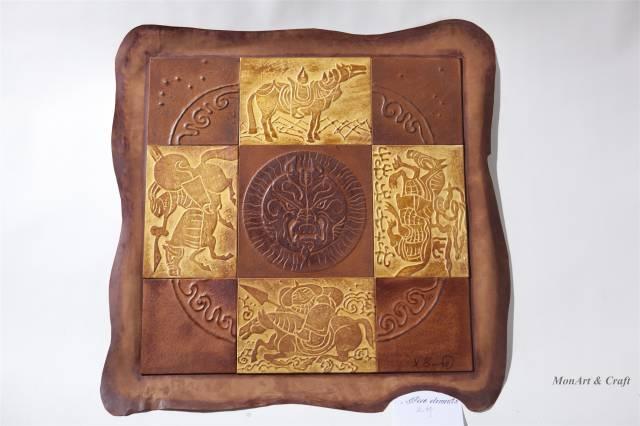 【美图】蒙古国皮画家艺术家吉雅图作品欣赏 第5张 【美图】蒙古国皮画家艺术家吉雅图作品欣赏 蒙古画廊