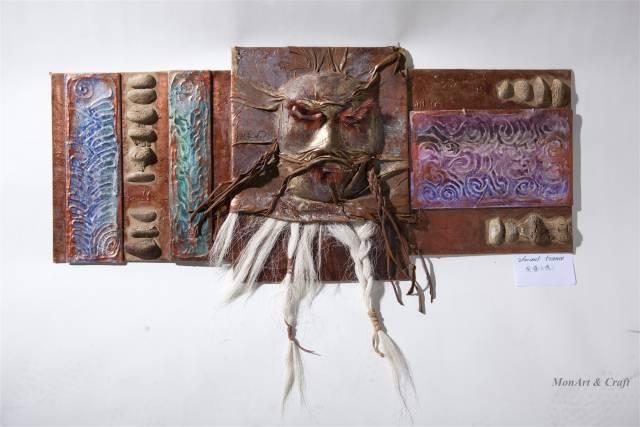 【美图】蒙古国皮画家艺术家吉雅图作品欣赏 第4张 【美图】蒙古国皮画家艺术家吉雅图作品欣赏 蒙古画廊