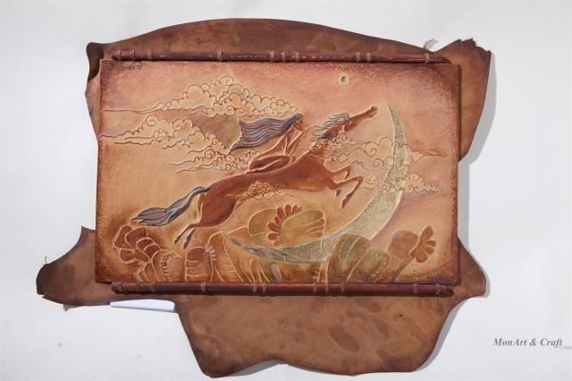 【美图】蒙古国皮画家艺术家吉雅图作品欣赏 第9张 【美图】蒙古国皮画家艺术家吉雅图作品欣赏 蒙古画廊