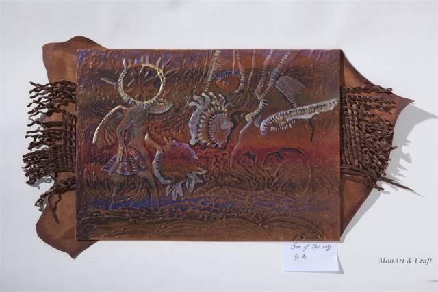 【美图】蒙古国皮画家艺术家吉雅图作品欣赏 第17张 【美图】蒙古国皮画家艺术家吉雅图作品欣赏 蒙古画廊