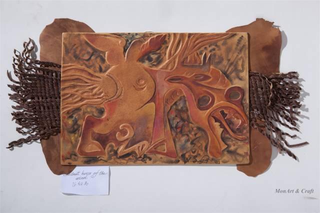 【美图】蒙古国皮画家艺术家吉雅图作品欣赏 第18张 【美图】蒙古国皮画家艺术家吉雅图作品欣赏 蒙古画廊