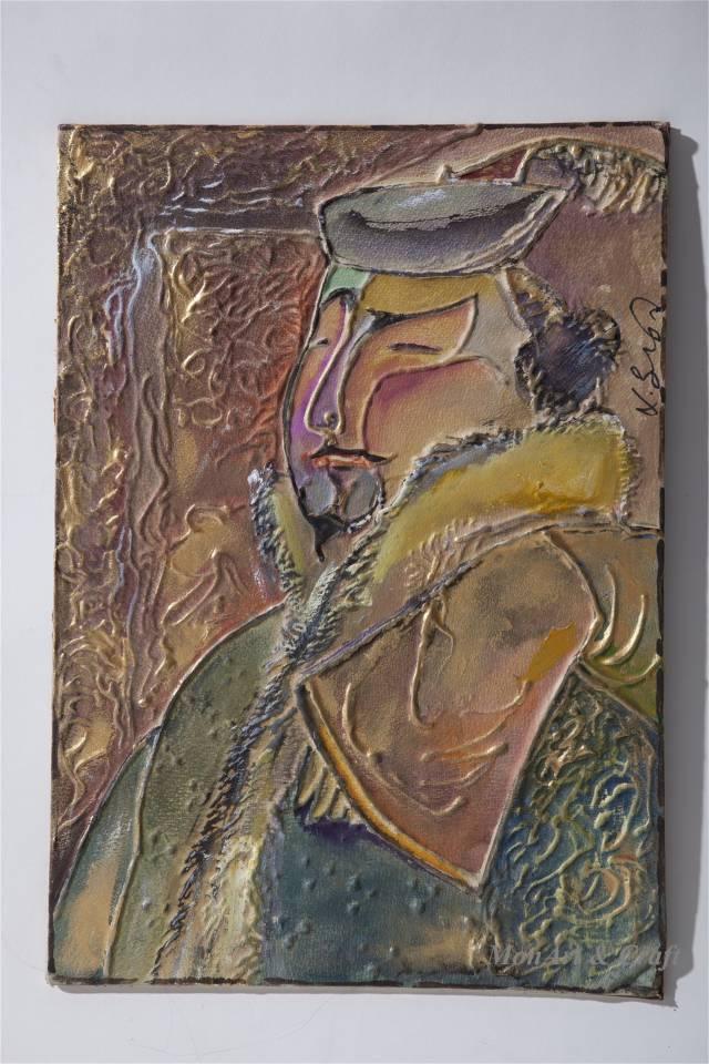 【美图】蒙古国皮画家艺术家吉雅图作品欣赏 第19张 【美图】蒙古国皮画家艺术家吉雅图作品欣赏 蒙古画廊