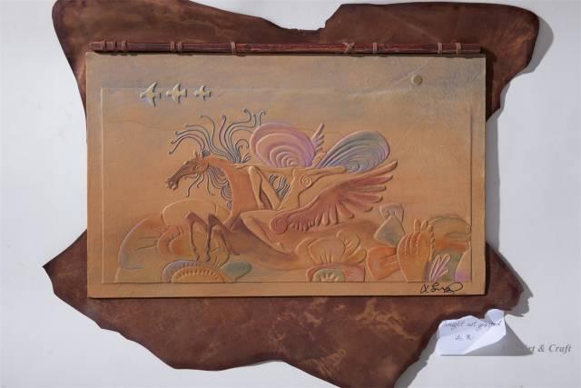 【美图】蒙古国皮画家艺术家吉雅图作品欣赏 第21张 【美图】蒙古国皮画家艺术家吉雅图作品欣赏 蒙古画廊