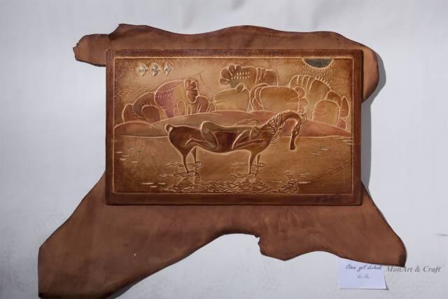 【美图】蒙古国皮画家艺术家吉雅图作品欣赏 第23张 【美图】蒙古国皮画家艺术家吉雅图作品欣赏 蒙古画廊